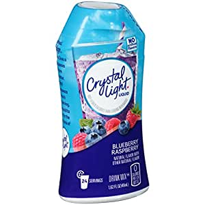 Crystal Light Liquid Drink Mix, Blueberry Raspberry, 1.62 Fl Oz (Pack of 12)