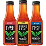 Pure Leaf Iced Tea, Sweetened Variety Pack, Real Brewed Black Tea, 18.5  Fl. Oz Bottles (Pack of 12)