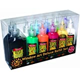 Window Art Deluxe Refill Set by Klutz Press (Aug 1 2007)