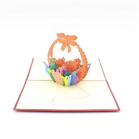 Tarjeta De Celebración 3D Tarjeta Cumpleaños San Valentín ...
