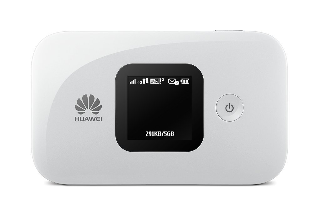 Huawei E5577s-321 Unlocked 150 Mbps 4G LTE Mobile WiFi Hotspot and port (4G LTE in Europe, Asia, Middle East, Africa & 3G globally) NEW MODEL WITH EXTENDED BATTERY! (White)