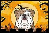 Caroline's Treasures Halloween English Bulldog Indoor or Outdoor Mat, 18 by 27″, Multicolor