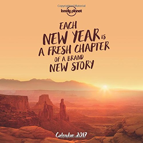 Lonely Planet Wall Calendar 2017