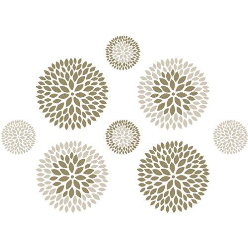 Wall Pops WPK1266 Chrysanthemum Kit Decal