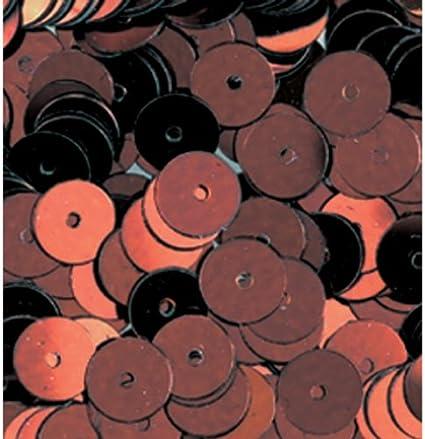 10/g hell rosa 6/mm efco rund flach Pailletten 1000