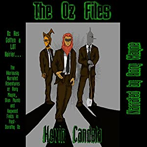 The Oz Files Audiobook