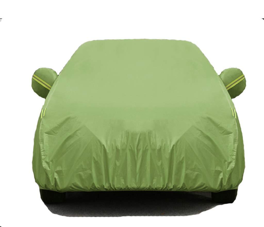 GAOY-CAR COVERS Coche Ropa del automóvil Cubierta Cubierta Cubierta General Invierno Engrosamiento Anticongelante contra la Nieve Sagitar LaVida H6 Corolla GS (Color : Green)