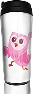 12 oz Tumbler with Lid Owl Fabulous Coffee Cups for Women Men Travel Mugs Birthday Friends Gifts