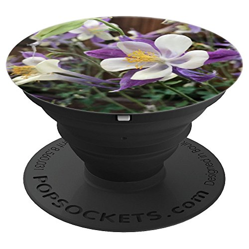 (Columbine Colorado State Flower - PopSockets Grip and Stand for Phones and Tablets)