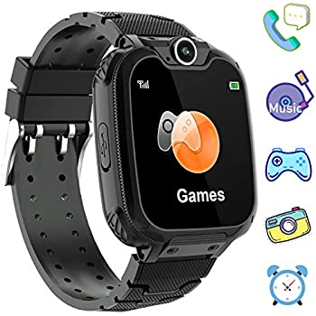 Amazon.com: PTHTECHUS Kids Smartwatch Phone - Boys Girls ...