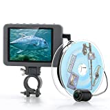Underwater Fishing Camera - 3.5 inch Color Monitor, 2MP Camera, 20 Meters Underwater Depth Range