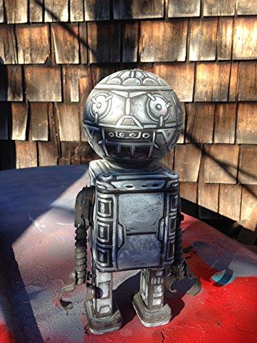"""Found object robot sculpture """"Herbert"""""""