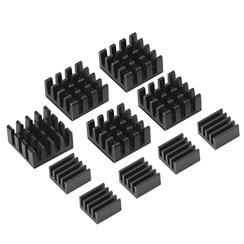 mudder-black-aluminum-heatsink-cooler-cooling-kit-for-raspberry-pi-3-pi-2-pi-model-b-10-pieces