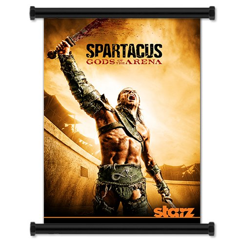 Spartacus: Gods of The Arena TV Show Season 1 Fabric Wall Scroll Poster (16