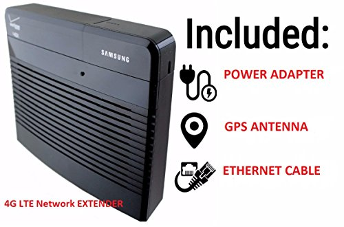 Samsung 4G LTE Network Extender Verizon Wireless Cellular Signal Booster  (Cell Phone Extender)