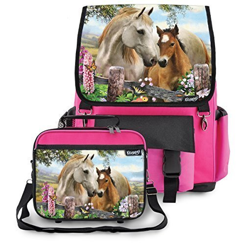 Kidaroo Summer Meadow Backpack Lunchbox