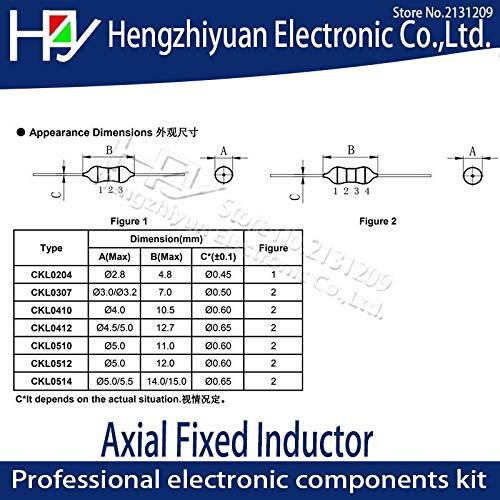 Fixed Inductors INDCTR HI CUR WND 1007 33uH 10/% 50 pieces