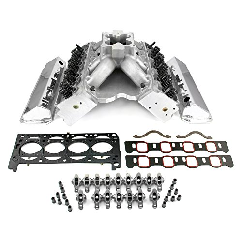 fits Ford 351C 9.2 Deck Fusion Manifold Hyd FT Cylinder Head Top End Engine Combo Kit