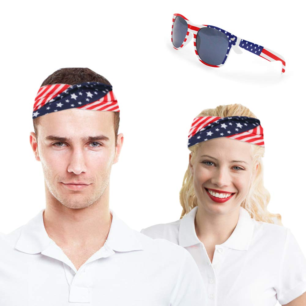 Great set of Patriotic accessories to show your true colors