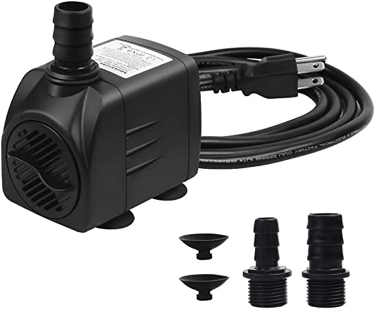 Water Pump Aquariums Ponds Fountains Hydroponic System Economical Small Quieter