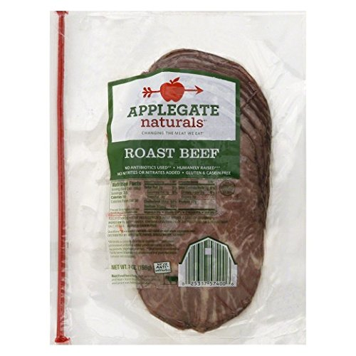 Applegate Naturals Roast Beef, 7 Ounce (Pack of 12) by Applegate