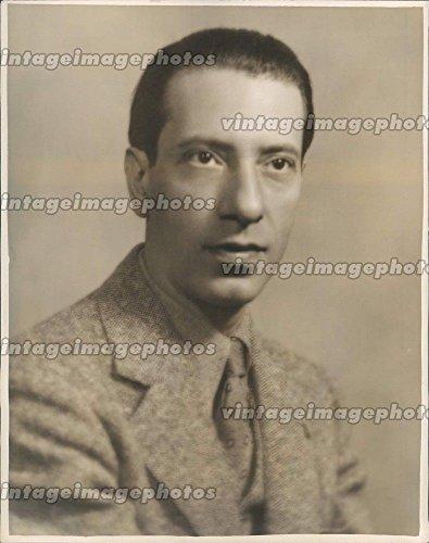 (1939 Photo Nino Ruisi Colline Aria La Boheme Vintage Head Shot Jacket)