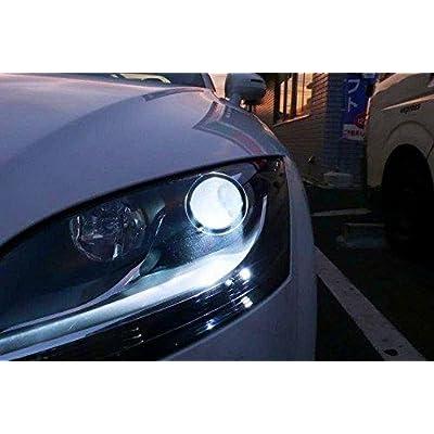 Xotic Tech D1S D1R D1C 6000K White OEM HID Headlight Replacement Light Bulb One Pair: Automotive