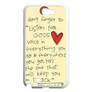 Bible Verse DIY Samsung Galaxy Note3 ,personalized phone case ygtg619926