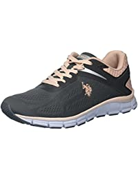 Sneakers for Women On Sale, Gold, Leather, 2017, 2.5 3.5 4.5 5.5 U.S.Polo Association