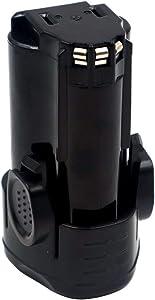 Replacement 12V 2000mAh Lithium-ion Rechargeable Battery for BD BL1110 BL1310 BL1510 LB12 LBX12 LBXR12