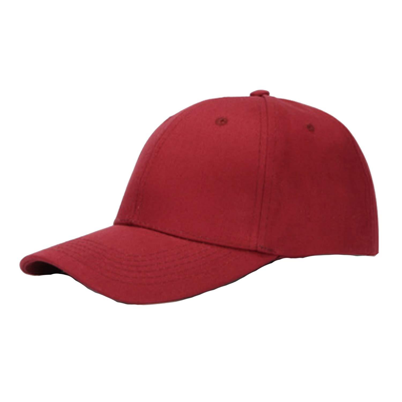 Cotton Solid Baseball Cap Hat Women Men Adjustable Summer Sun Casquette Casual Unisex