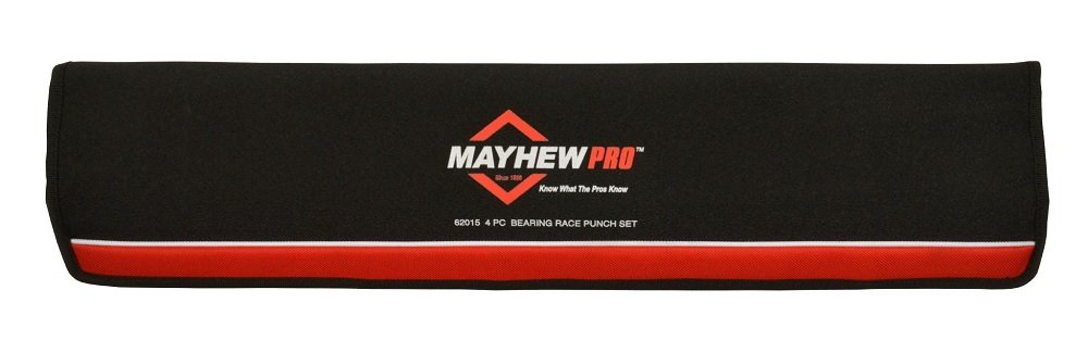 Mayhew Pro 62015 Bearing Race Punch Set, 4-Piece by Mayhew Tools