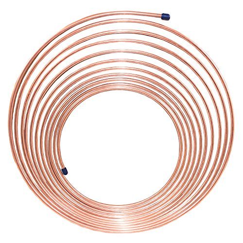Nickel/Copper Brake Line Tubing Coil, 3/16