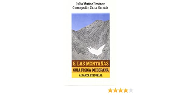 Guía física de España. 5. Las montañas El Libro De Bolsillo Lb ...