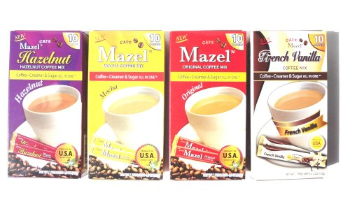 Instant Coffee Packets Cream Sugar product image