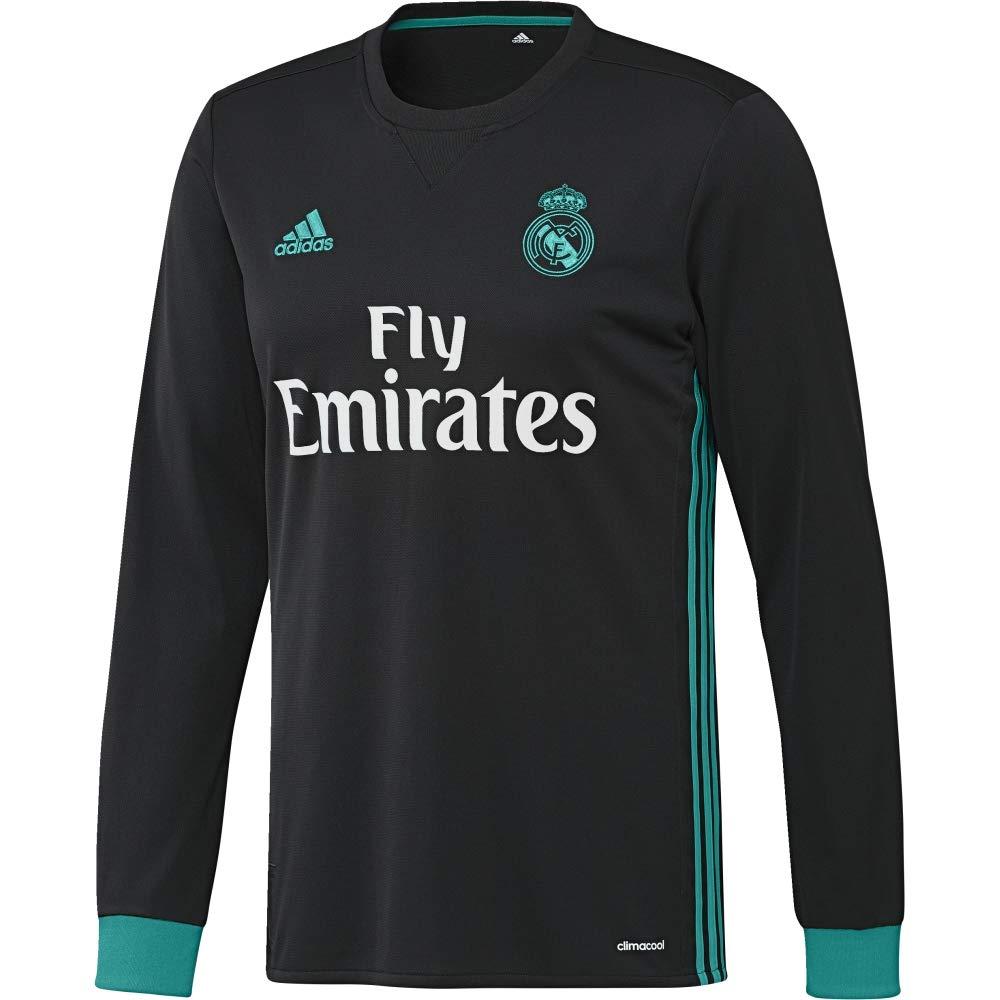 2017-2018 Real Madrid Adidas Away Long Sleeve Shirt 01cce9a9a