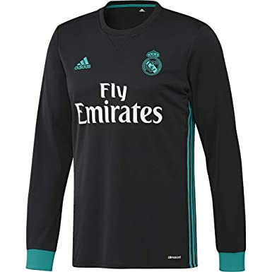 adidas A JSY LS Camiseta 2ª Equipación Real Madrid 2017-2018 ...