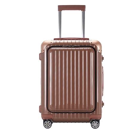 WODENINEK Equipaje De Viaje Material De PC Maleta con Ruedas para Viajes De Negocios Hombre y