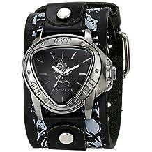 Nemesis Men's 928LMS-S Dragon Series Analog Display Japanese Quartz Black Watch