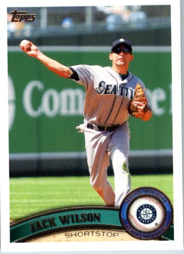 Jack Wilson Baseball - 2011 Topps Baseball Card IN SCREWDOWN CASE #85 Jack Wilson Mint