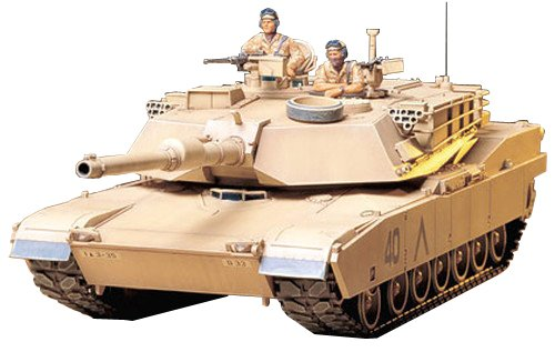 M1a1 Tank - M1a1 Abrams 120mm Gun Main Battle Tank - 1:35 Scale Military - Tamiya