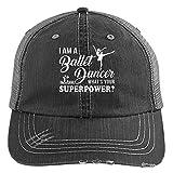 I Am A Ballet Dancer Knit Cap, What's Your Power Hat (Trucker Cap - Black)