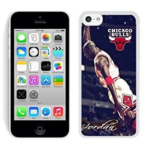 iPhone 5C Case ,Unique And Fashionable Designed Case With Michael Jordan White For iPhone 5C Phone Case
