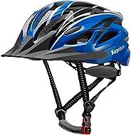 Adult Bike Helmet Cycle Helmet for Men Women Mountain Road Bicycle Helmet Adjustable Lightweight Helmet with D