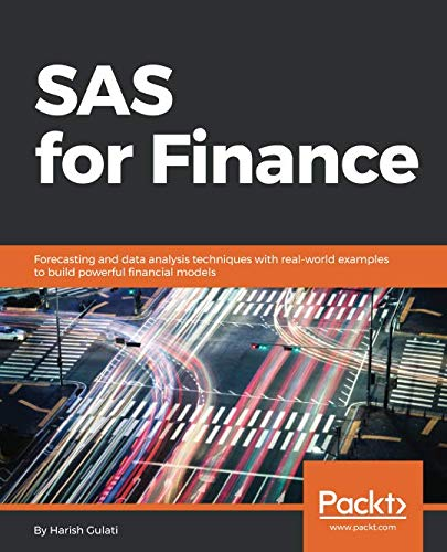 SAS for Finance Front Cover