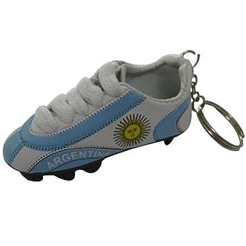 Argentina fútbol de fútbol Futbol Mini zapatos llavero ...
