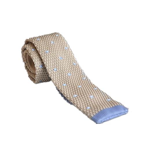 Hukangyu1231 Corbata Tejida de Punto de los Hombres de Negocios ...