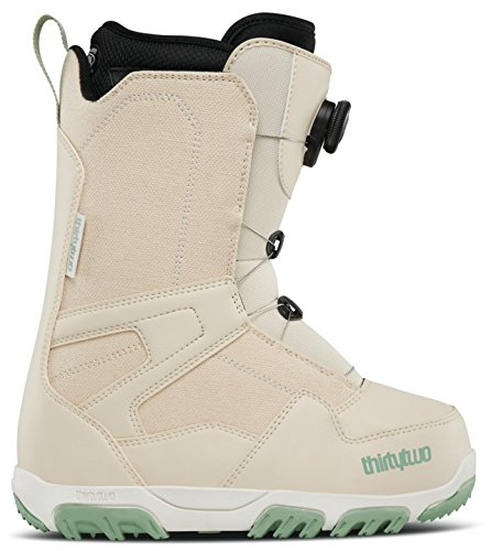thirtytwo Shifty Boa W'S '17 Snowboarding Boot, Beige, 10