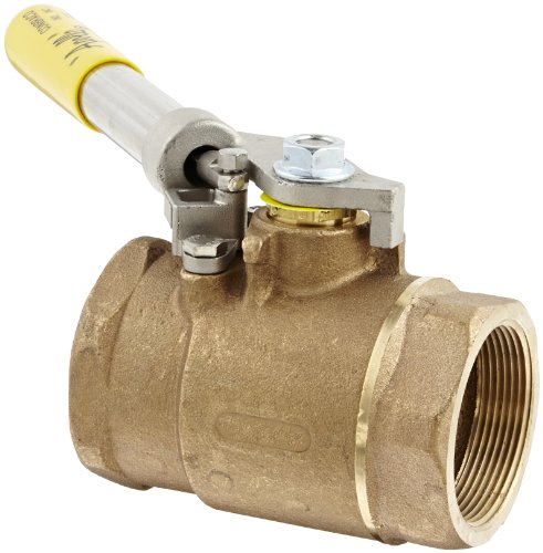 Dixon BBV200SR Bronze Ball Valve, Deadman Spring Return Handle, 2