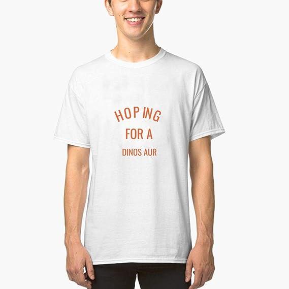 Camisetas Hombre Verano Camisas Crazy Dog Maternity con La Esperanza De Un Dinosaurio Divertido Bebé Anuncio De Embarazo Camisetas De Un Solo Color para Hombre (Can Custom-Made Pattern): Amazon.es: Equipaje